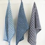 Vævestrikkede håndklæder