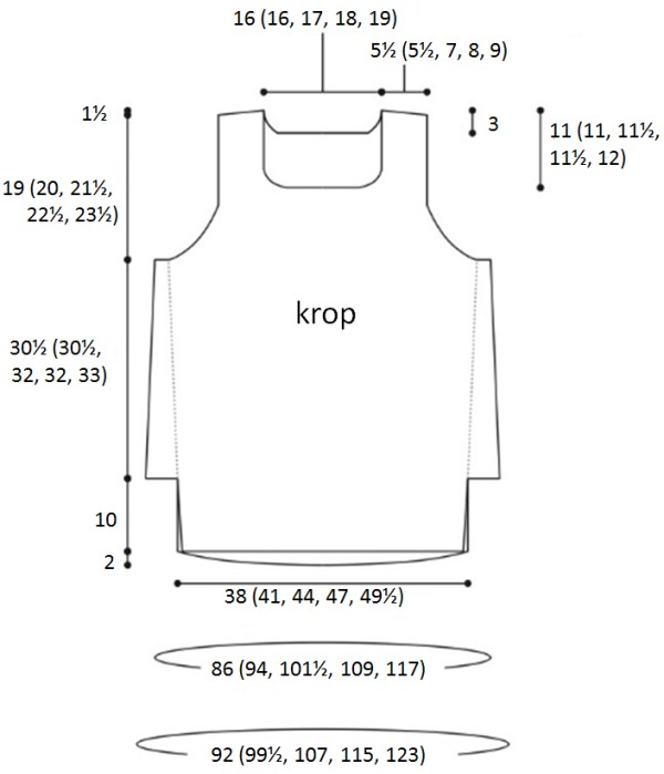 notched hem diagram