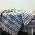 Babytæppe med struktur