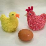 Påskekyllinger og -høner